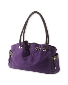 CC Purple Suede Bag
